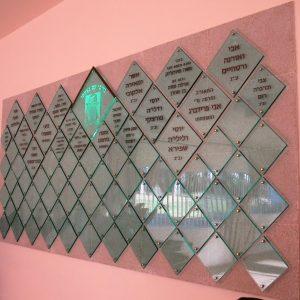 לוחות תורמים מפרספקס דמוי זכוכית