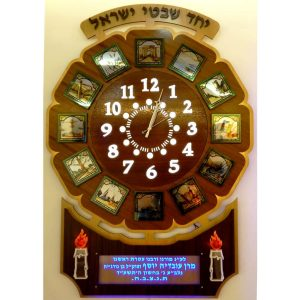 Clocks and Shevatim displays
