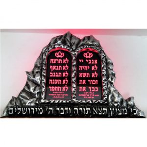 Ten Commandments plaques